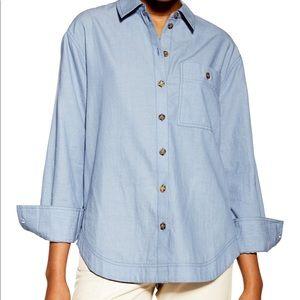 NWT Topshop Cotton Shirt
